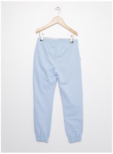Limon Company Limon Açık Mavi Yazı Baskılı Kız Çocuk Sweatpant Mavi